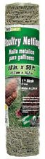 """2 rolls 308402B 18"""" x 50'  1"""" Mesh Poultry Netting Chicken Wire Fence Fencing"""