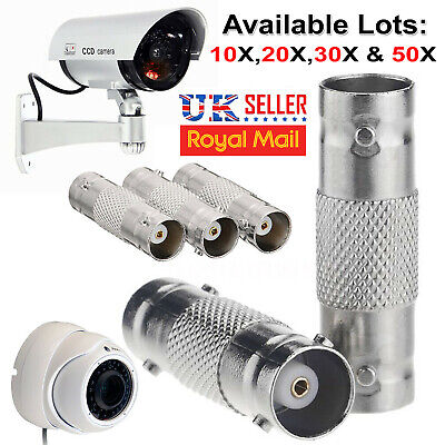 XU61 BNC Female To BNC Female Connector couplers Adapter For CCTV Camera Lot