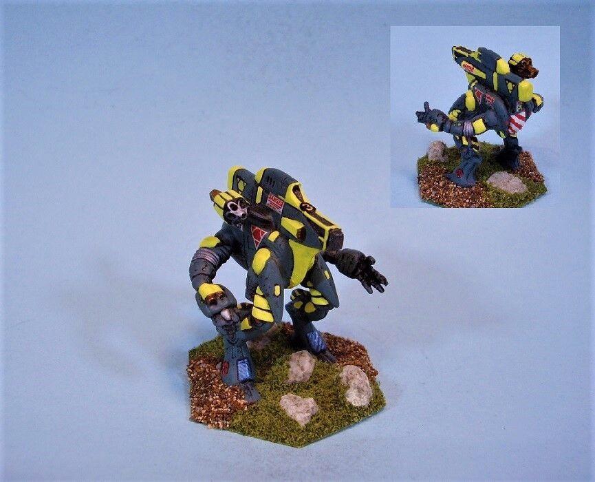 Battletech Pintado Miniatura sabueso battlemech YG