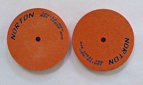 """DUMORE TOOL POST GRINDING GRINDER WHEELS NORTON 1//4/""""hole x 1//4/""""wide x 3/""""diameter"""