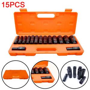 15pc-1-2-034-inch-Deep-Impact-Socket-Tool-Set-10-32mm-Metric-Garage-Workshop-4-41