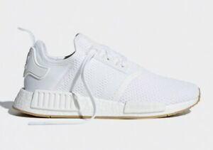 4acefe361 Adidas Nmd R1 Cloud White Gum bottom D96635 Men s shoes Ultraboost ...