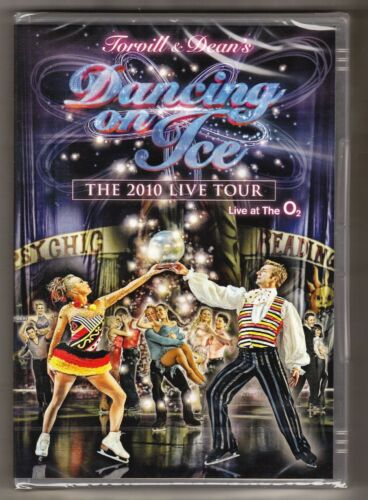 1 of 1 - Dancing on Ice The Live Tour 2010 DVD at Live O2 Original UK Rele New Sealed R2