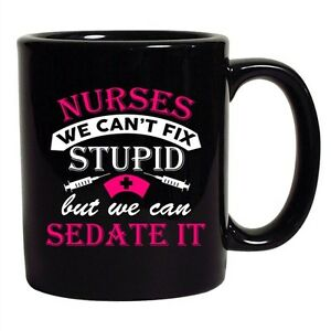 Coffee Cup Mug Travel 11 15 oz Police Can/'t Fix Stupid But Can Mace Tase Cuff It