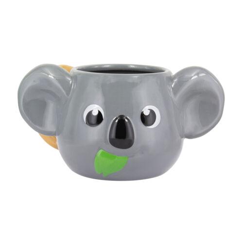 Kaffeebecher Koala 3D Kopf Kaffeetasse Koalabär Tasse Becher Teetasse Bär