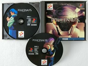 POLICENAUTS-PS1-Konami-Sony-Playstation-From-Japan