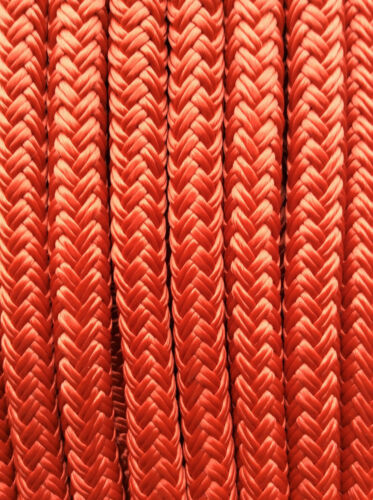 """Seachoice Double Braided Nylon Anchor Line Boat 3//8/"""" x 100 FT Red 42171"""