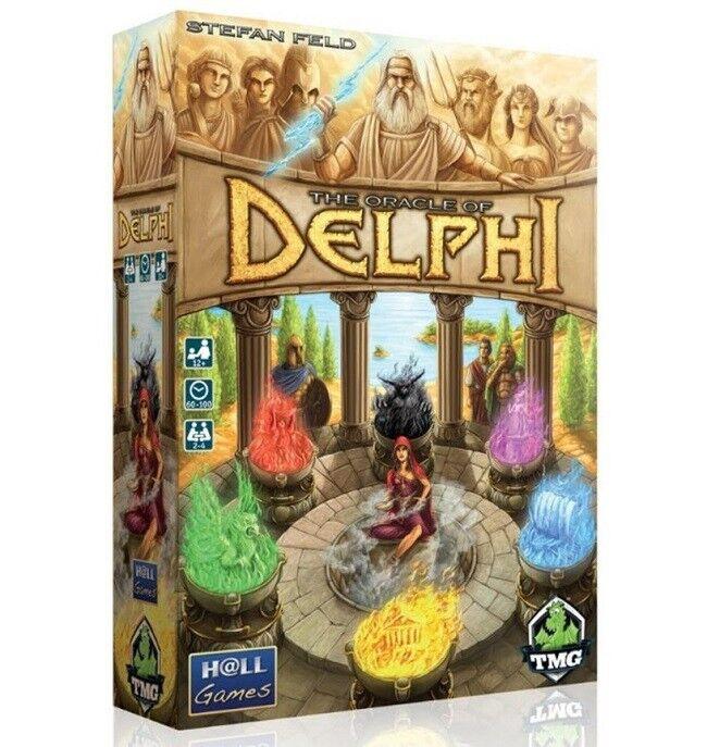 Tmg - spiele  das orakel von delphi brettspiel (neu)