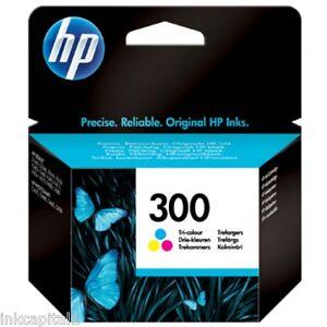 HP-NO-300-COLOR-ORIGINAL-OEM-Cartucho-inyeccion-de-tinta-para-D1663-D1668-D5560
