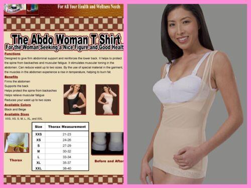 ARDYSS ABDOWOMAN WOMEN TShirt Tummy Waist Control Back Support Body Magic shaper