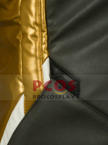 Gold Version~ Soldier 76 Cosplay Costume Jacket Coat /& Glove mp003326