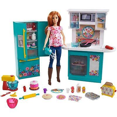 Pioneer Woman Ree Drummond Chef Doll Kitchen Set Playset Barbie Cookware 887961714708 Ebay