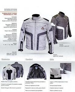 Giubbotto giacca moto ORIGINALE JEB'S Revolution Maxdura impermeabile AFFARE!!!!