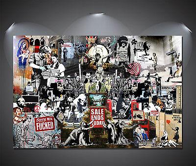 Banksy Art Large Poster Set A4 A3 A2 A1 Sets Available