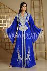 LATEST KAFTAN FANCY DRESS TAKCHITA WEDDING GOWN PARTY WEAR THOBE JILBAB 3622A