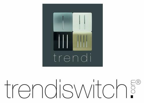 Trendi Moderne Brillant Screwless Tactile 13 amp Fusible éperon Switch Champagne Gold