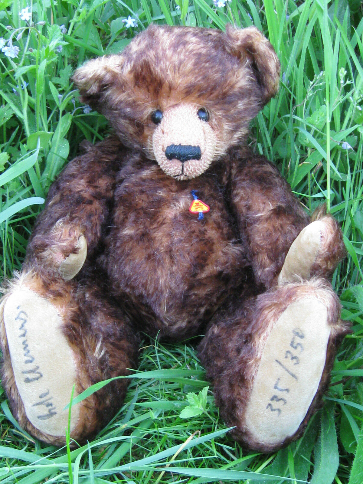 Schwerer CleSies Künstlerbär limitiert Künstlerteddy Teddybär   handsigniert