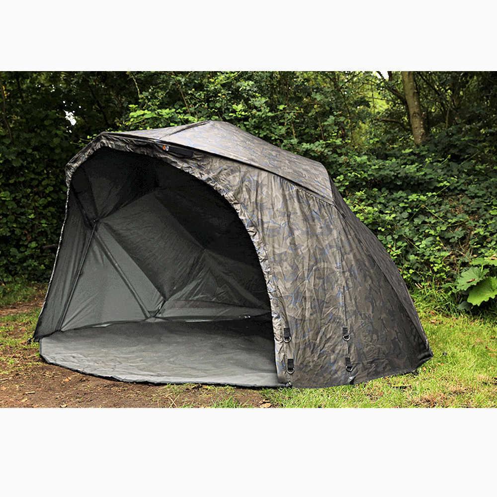 Fox Ultra 60 Brolley Ventec Ripstop Camo ombrello tenda cum221 Carp-Shop