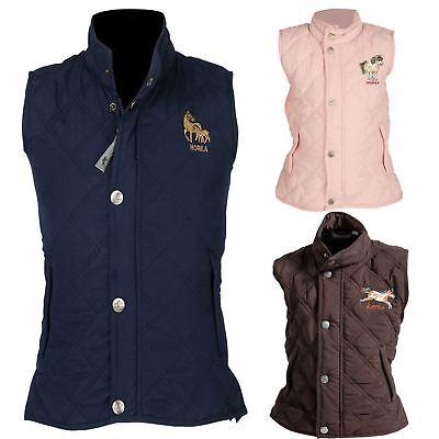 Harka Equestre Junior Mini Rider Confortevole Tailor Fit Embroided Corpo Più Caldo-