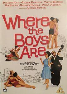 Where-The-Boys-Are-1960-Connie-Francis-UK-Original-2004-DVD-MINT-RARE