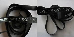 "MAVIC rim tape 26"" x 20mm  OUTSIDE Nylon PVC Strip X 2PCS"