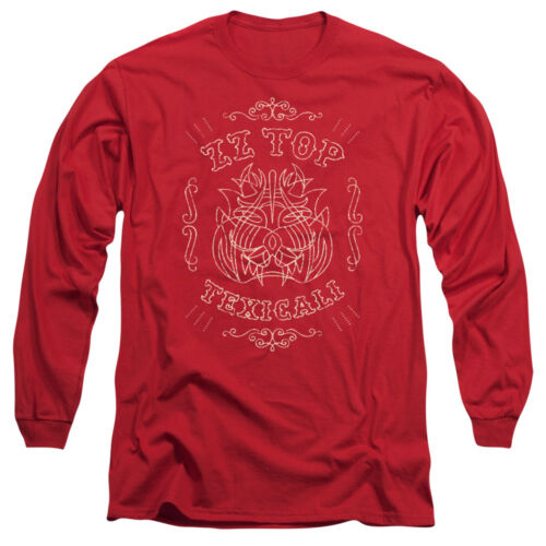 ZZ Top TEXICALI DEMON Licensed Adult Long Sleeve T-Shirt S-3XL