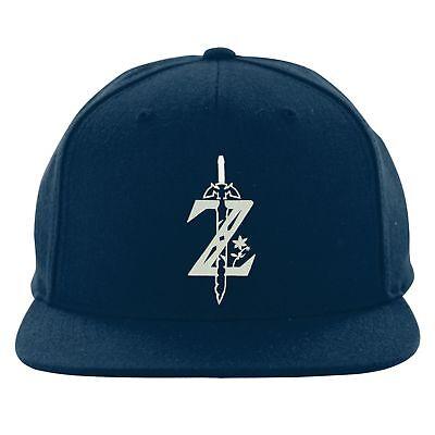 Birthday Gift Embroidered Cap Zelda II Sword Logo Beanie