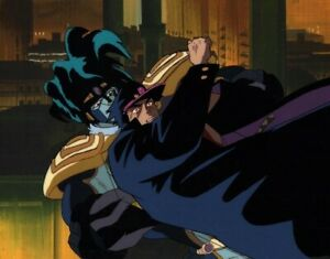 Jojo's Bizarre Adventure Anime Cel Animation Art Jotaro & Star Platinum 1993 OVA