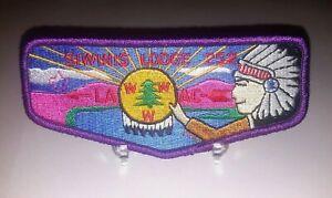 Siwinis-Lodge-252-LAAC-OA-Boy-Scout-Flap-Patch-BSA-WWW-Unworn