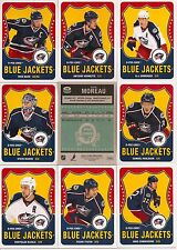 2010-11 OPC O-Pee-Chee Retro Columbus Blue Jackets Complete Team Set (17)
