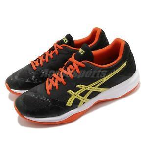 Asics-Netburner-Ballistic-FF-Black-Orange-Yellow-Men-Volleyball-Shoe-1051A002003