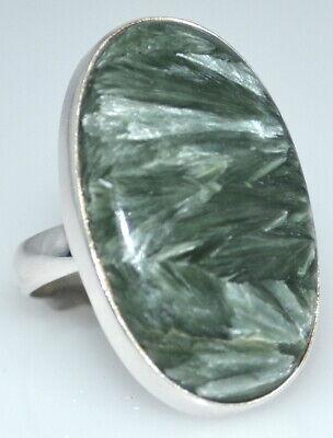 12 5 to Y 925 Sterling SILVER Natural Gemstone Black Drusy Druzy Ring; Sizes K