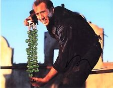 Nic Cage signed - 11x14 Color signed  Photo 'The Rock'  A899NCTR
