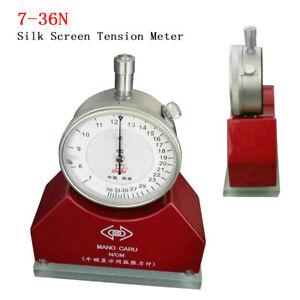 7-36N Silk Screen Newton Tension Meter for Silk Screen Printing