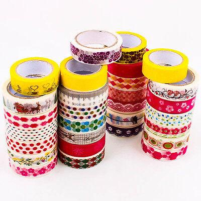 Upick Washi Tape 15mm Cute Pattern Design DIY Scrapbooking Craft Supplies A0431
