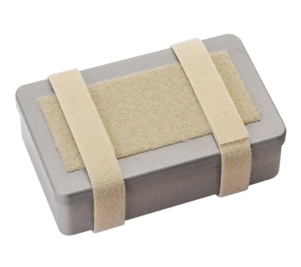 Suma Container Large Tan Aluminum Survival First Aid Sere Kit Box Solkoa