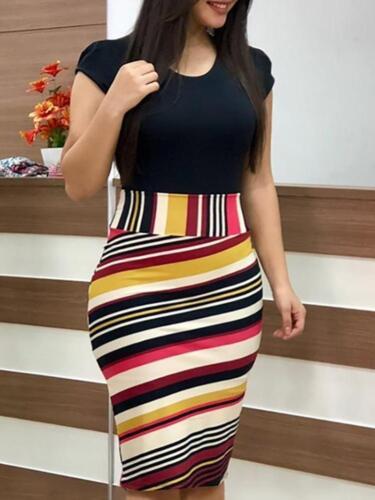 Elegant Women/'s Business Office Dress Formal Bodycon Sheath Pencil Dresses