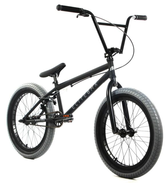 "Elite 20/"" BMX Stealth Bicycle Freestyle Bike 1 Piece Crank Black Red NEW"