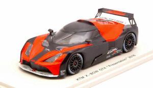 KTM X-Bow GT4 Präsentation orange / schwarz 2016 - 1:43 Spark