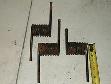 3 Vintage 70's Snowmobile Suspension Spring Lot