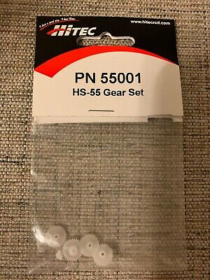 Hitec RCD 55001 HS-55 Servo Gear Set