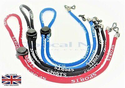 No1 Gafas de Sol Gafas Soporte para cadenas de deportes Impreso Suave Ajustable jx-c010