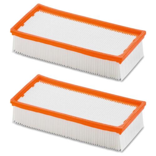 2x Flachfalten Filter für Würth Kärcher Hilti Flex Bosch 35 ISS 45 6.904-367.0