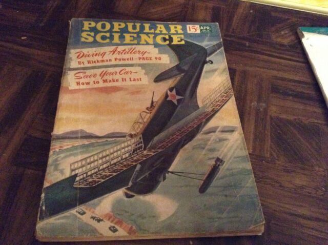 Popular science magazine dated April 1942
