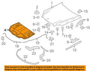 Hood Insulation Pad Liner Heat Shield for Mercedes Benz W211 E350 E63 2116820626