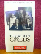 The Twilight Of The Golds VHS VIDEO Emmy Consideration Screener Showtime TV NEW