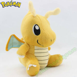 Pokemon-7-034-Dragonite-Plush-Toy-Nintendo-Pikachu-Dragon-Figure-Stuffed-Animal