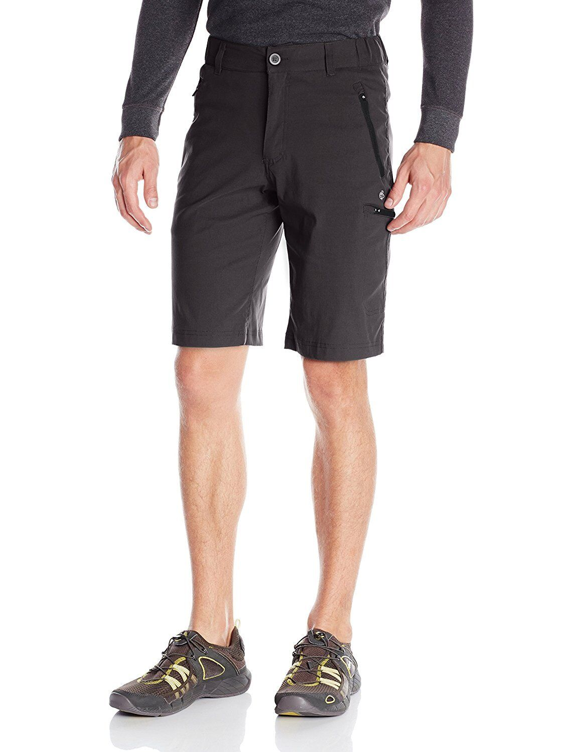 Craghoppers Mens Travel Stretch Kiwi Pro Active Long Shorts .99 Free Post