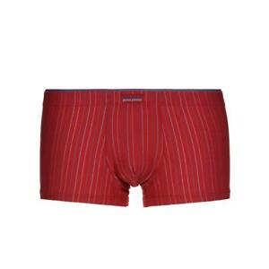 Bruno Banani Trunk Hip Short Arrival Rouge Bleu Rayures S M Xl Xxl Neuf