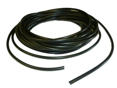 4mm BLACK flexible PVC Sleeve / Sleeving /Tubing - 10 metres